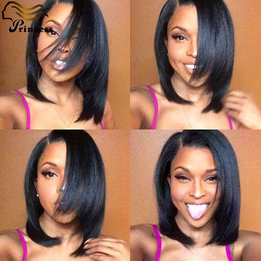 Cheap Bob Full Lace Human Hair Wig Straight Brazilian Short Human Hair Wigs For Black Woman Glueless Lace Front Human Hair Wigs<br><br>Aliexpress