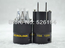 Free shipping one pair Acrolink FP-03Eu CRYO Audio Power Plug connectors power Adapter+IEC plug(China)