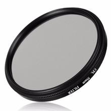 52/55/58/62/67/72/77/82mm Digital CPL Circular Polarizer Polarizing Glass Filter for Canon for Nikon For Sony DSLR Camera Lens(China)