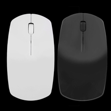 2016 Hot 2.4G Wifi mouse USB wireless and mice 10M working distance ,super slim mouse rato For PC Laptop mause Free Shipping(China)