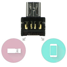 For Tablet PC Phone Adapter OTG Turn to USB Flash Drive U Disk Function Zinc Alloy