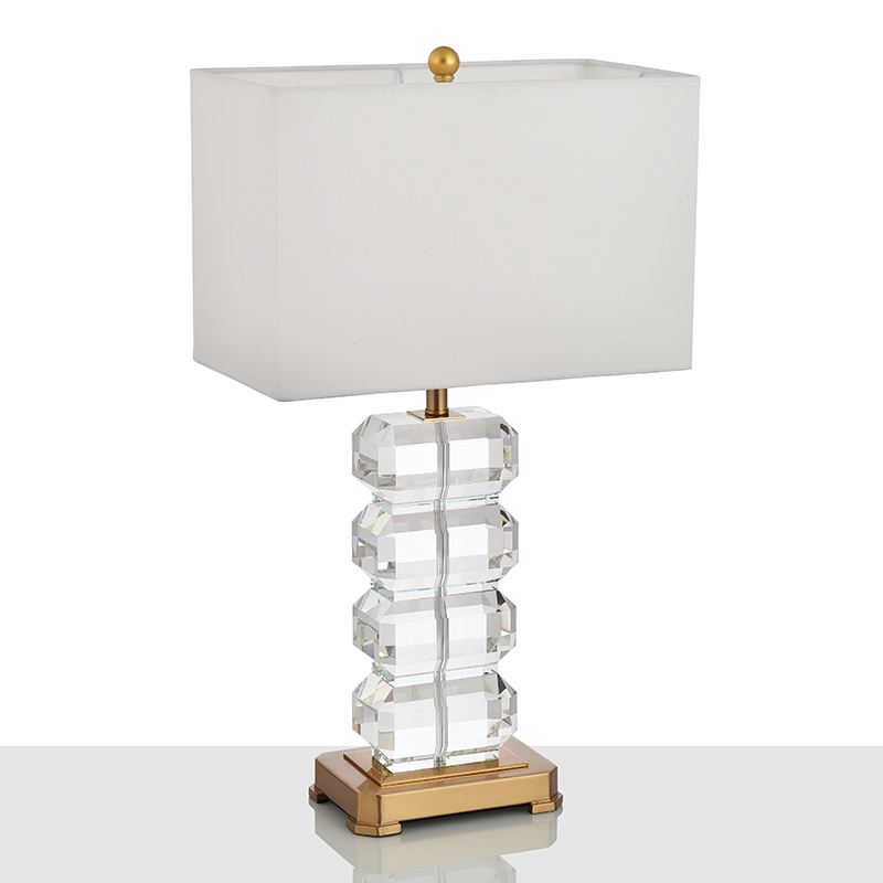 Hotel Crystal Table Lamp 1
