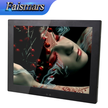 "Hot Sale!! Faismars 19 Inch Embedded Metal Shell LCD Monitor PC 19"" Industrial Monitor Terminal with 1280*1024 pixels(China)"