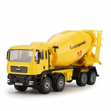 1:50 Scale Diecast Cement Mixer Toys Car Engineering Car Toys Alloy Car Models Mixer Truck Car Model Classic Toys Gifts For Kids
