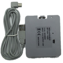 3800mA USB Rechargeable Battery with Charger Cable for Nintendo Wii Fit Balance Board(China)