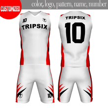 sample of white international new top style basketball jersey uniform design(China)