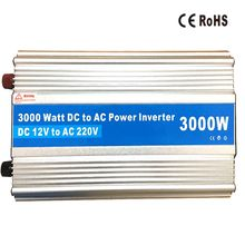 High Quality 3000W Power Inverter 12V 220V DC AC  2000W 1500 Watt Car Charger Adapter AC to DC Power Inversor converter
