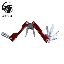 Jeblo Multitool Pliers With LED Lamp Kinfe Screwdriver Pliers Hand Tools Multi tool Long Nose Pliers Bottle Opener Saw Tools