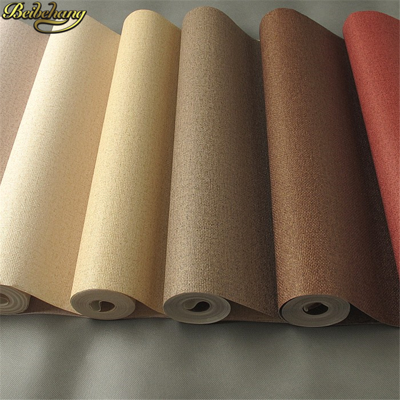 beibehang papel de parede 3d Straw linen wallpaper rolls wall paper home decor for living room home decoration flooring contact<br>