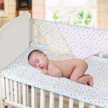 70*50CM High Quality Cotton Baby Reusable Portable Urine Mat Matelas Waterproof Infant Bedding Nappy Changing Cover Pads