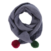 Hengzheapparel new trendy winter autumn cotton baby girl fashion scarves wild variety kids shawl collars children wear accessory(China)