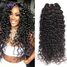 Iwish Malaysian Virgin Deep Curly Hair 6A Grade Malaysian Virgin Hair Deep Wave 3 Bundles Kinky Curly Virgin Hair Curly Weave