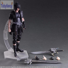 Final Fantasy Action Figure Play Arts Kai Noctis Lucis Caelum Anime Final Fantasy 15 Model Toys 270MM Playarts Tobyfancy