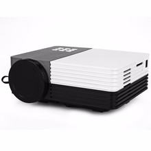 GM50 Projector Portable Home Theater Cinema Beamer LED LCD Video 3D Projector With Remote Controller AV/USB/SD/VGA HDMI