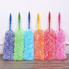 6 Colors Cleaning Duster Dust Cleaner Handle Feather Static Anti Magic Household Cleaning Tools(China)