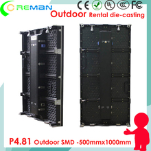 ali ekspres Coreman led display mages video p4.81 outdoor HD / high brightness stage backdroud led video curtain  wall p6.25