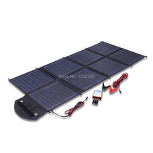 2017 100W Solar Power Bank Highly Efficient Poly Crystalline Caravan Solar Blanket