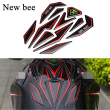 Newbee Reflective 3D Motorcycle Sticker Fuel Tank Protector Pad Cover Decoration Decal for Honda KTM Yamaha Kawasaki Suzuki