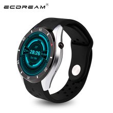 Newest smart watch I3 WiFi 3G SIM card Google play slim shape pedometer heart rate android 4G ROM 512mb RAM BT4.0 PK KW88
