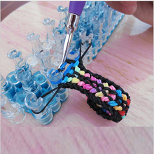 Original Knitting Machine Weave Rubber Bands Loom Lacing DIY Handmade Weaving Tool braided Bracelet Kids Toy for Children Girls(China)