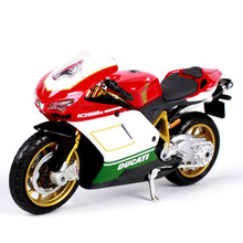 Maisto Motorcycle Toy, 1:18 Diecast Metal & Alloy Ducati Motorbike Toys, Miniature Car Toy For Collection, Kids Toys, Brinquedos