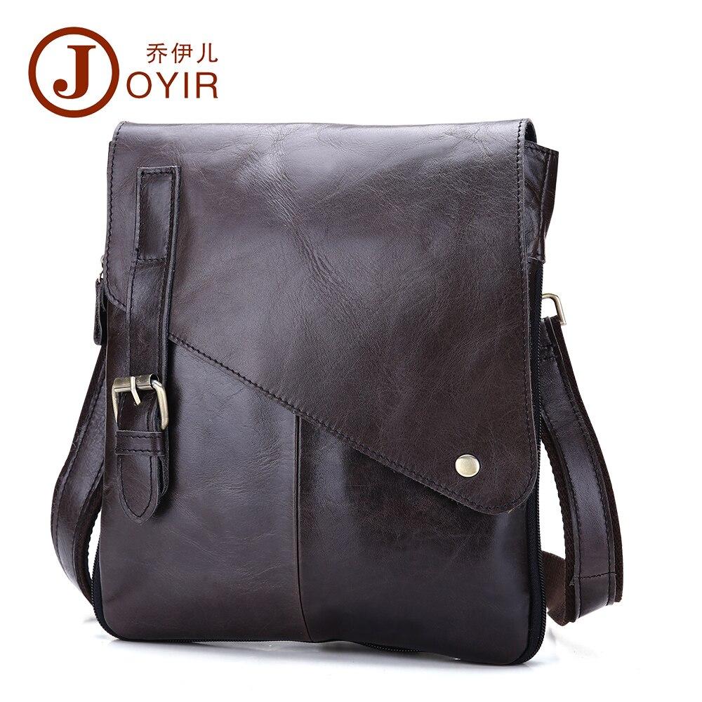 2017 100% Genuine Leather Mens Shoulder Bag Casual Messenger Crossbody Pack Travel Small Money Belt Bag Men Small Bags B205<br><br>Aliexpress