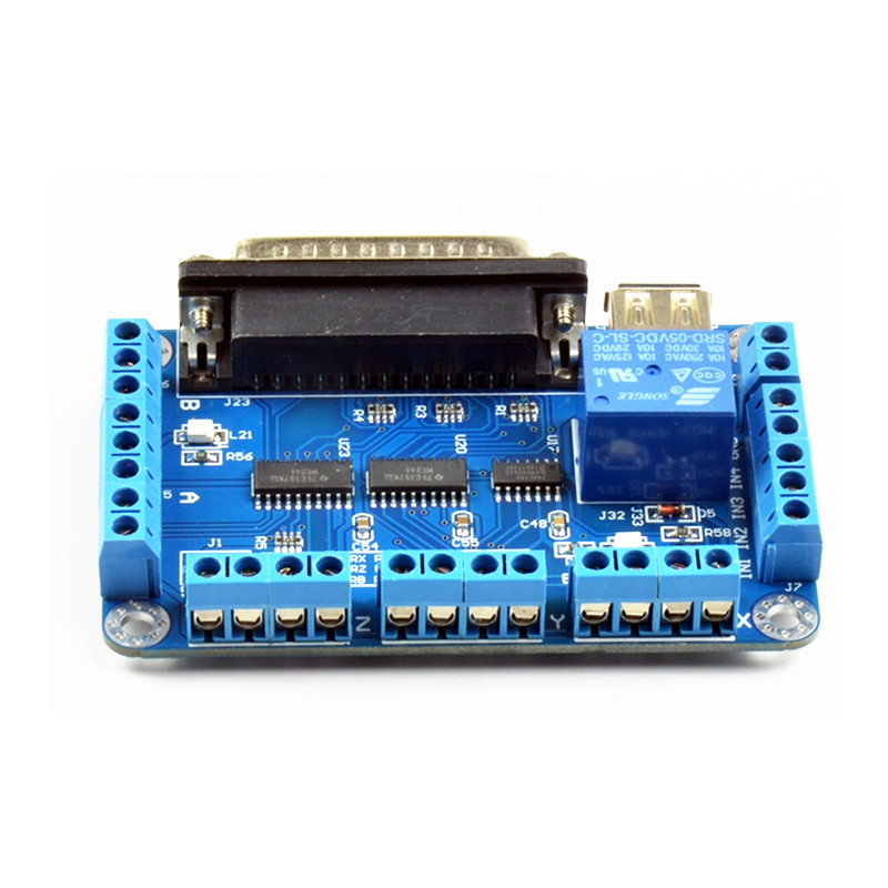 mach3 Parallet Port TO USB (6)