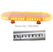 United Safe free shipping ESM3637 low profile GEN III 1 Watt super bright LED mini Warning Lightbar(amber/blue/red/white)