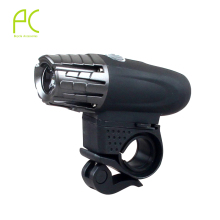 PCycling Super Bright 200LM USB Rechargeable Bike LED Front Light Power Head Flashing Cycling Bicycle Safety Waterproof Lamp