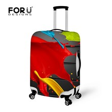 2016 Design Style Cover for Suitcase Bags Travel Luggage Accessories for Men's Women Waterproof Protection Suitcase Case Cover