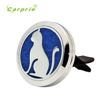 Carpeta perfume Stainless Car Air Auto Vent Freshener Essential Oil Diffuser Gift Locket Decor Pasta de perfume  new hot july24