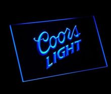 jb-73 Coors light Beer NR Bar Pub Club LED Neon Light Signs home decor crafts