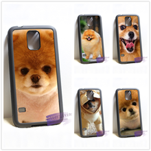 Pomeranian puppy dog 14 cell phone case cover for samsung galaxy S3 S4 S5 S6 S6 edge S7 S7 edge Note 3 Note 4 Note 5 &qq70