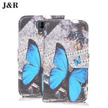 Girl's case Uhans A101 A101S leather Painting Stand Holder Card cover 5.0inch Phone Bag&Cartoon - J&R OfficialFlagship Store store