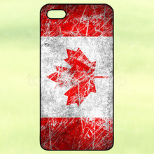 Canada Canadian Flag Paint Hard Cover Case for iPhone 4 4S 5 5S 5C 6 Plus iPod Samsung Galaxy S3 S4 S5 Mini S6 S7 Edge Note 2 3