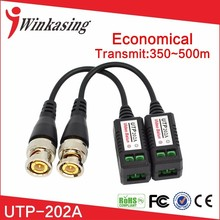 Quality Cheapest enhanced Video Balun Twisted BNC CCTV Video Balun passive Transceivers UTP Balun BNC Cat5 CCTV UTP Video Balun(China)