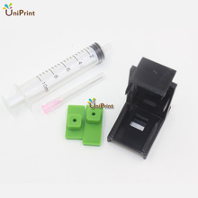 Ink Cartridge Clamp Absorption Clip Pumping refill tool for HP 21,22 60 61 56 901 121 300 301 122 PG40 PG50 for Lexmark 26 16