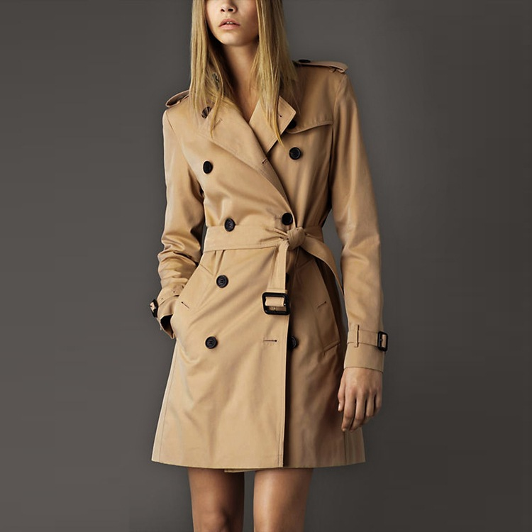 womens double breasted trench coat № 342829