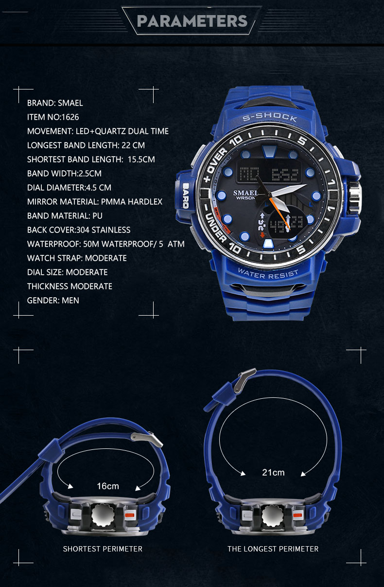 3sport watch for man