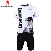 Paladin Men Highly Elastic Cycling Jersey Cool Eagle Sportswear Breathable Outdoor Short Sleeve Bike Ride Cycling Clothing Set