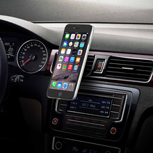 Magnetic Phone Support Car Mobile Phone Holder Bracket Universal for iPhone Samsung GPS NAV iPod Mini 1PCS Air Vent Mount