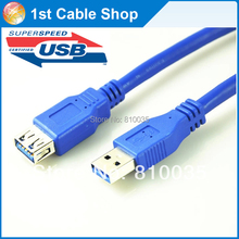 USB 3.0 extension cable 5M 3M 1.5M 0.5M 0.3M USB 3.0 Type A male to female Triple-shielded