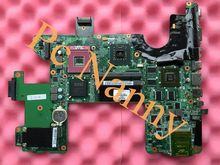 100% Original 496871-001 for HP HDX18 laptop motherboard Intel PM45 w/ NVIDIA 9600M GT Graphics card DDR2 Free CPU High qunlity