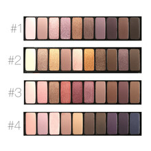 MARIA 10 colors Matte Eyeshadow Naked Palette Beauty Colors Pigment Nudes Matte Eye Shadow with Brush ME610-M