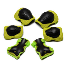 6pcs/set Skating Protective Gear Set Elbow pads Bicycle Skateboard Ice Skate Roller Bike Knee Protector For Adult Kids(China)