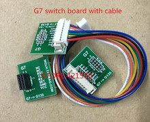 The G7 switch board with cable for laser sensor PMS7003 PM2.5 particles