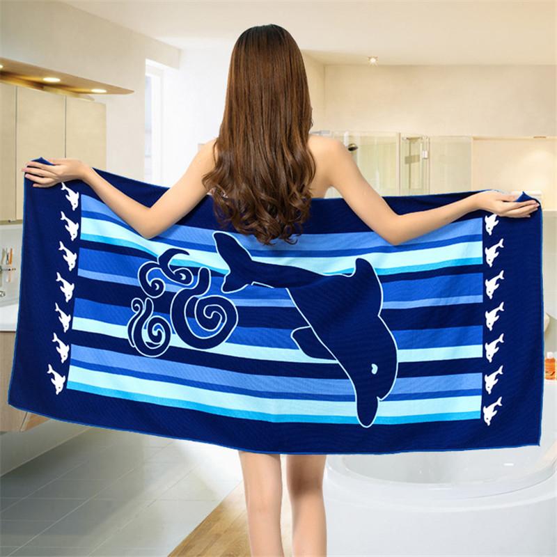 Micro Fiber Printed Beach Towel 140*70cm 48
