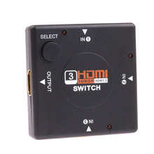 Free shipping HDMI SanJin a switcher version 1.4 supports 3D hdmi switcher hdmi converter Support color video format