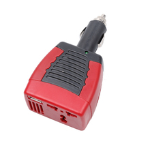 75W Car Charger Cigarette Lighter Adapter USB port fast charger converter 12v to ac 220v car power inverter adapter For Laptop