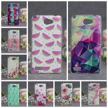 Luxury 3D Relief Printing Flower Case For LG Bello 2 II Cases Soft TPU Back Phone Cover For LG Max X155 Bag Silicon Skin Cases